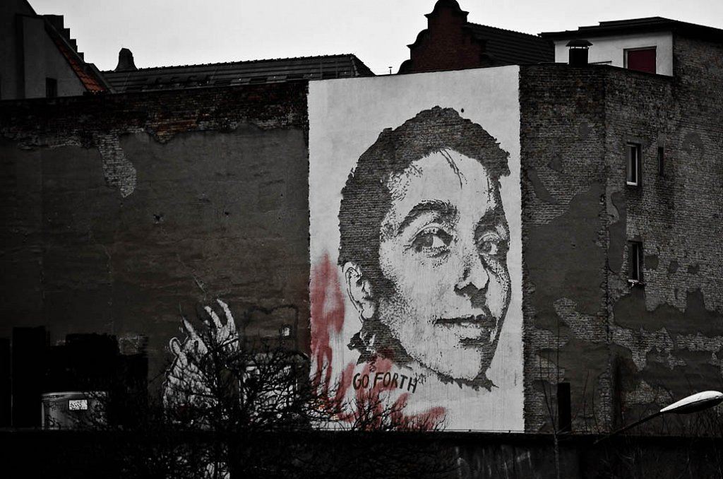 Vhils by the Spree